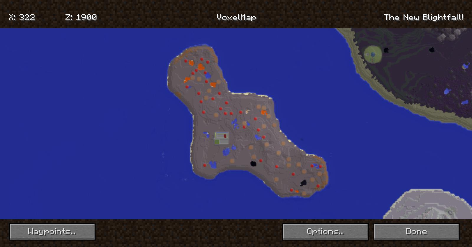 Blightfall Hqm Adventure Map V203a Mod Packs Minecraft Mods