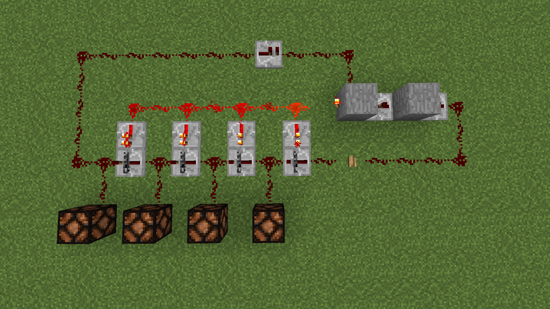 How Do I Make A Redstone Pulse Counter Discussion And Minecraft Circuits Counting With