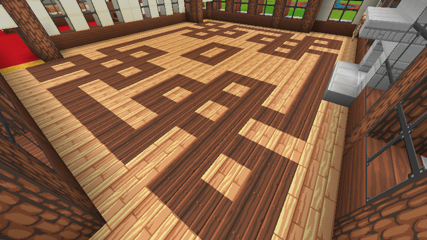 Original Wood Floor For Use In Larger Rooms Creative Mode