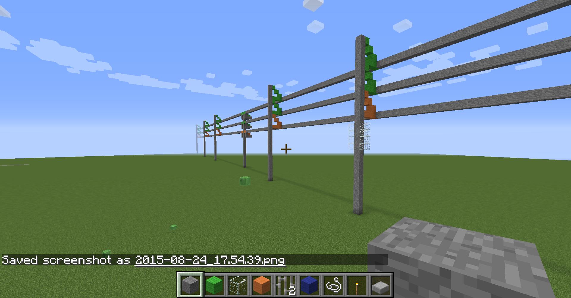 lattice steel transmission tower - screenshots