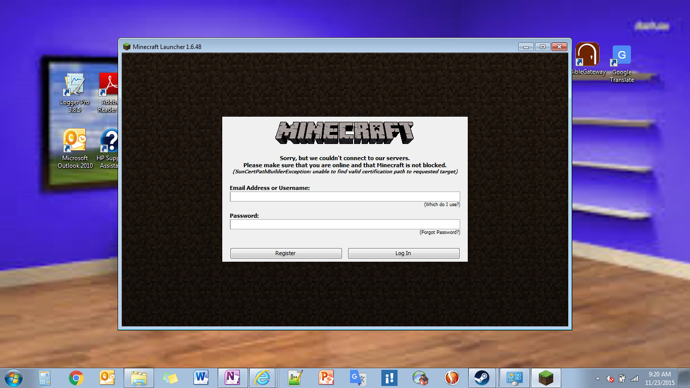 Minecraft not working please help unmodified minecraft client error 1betcityfo Gallery