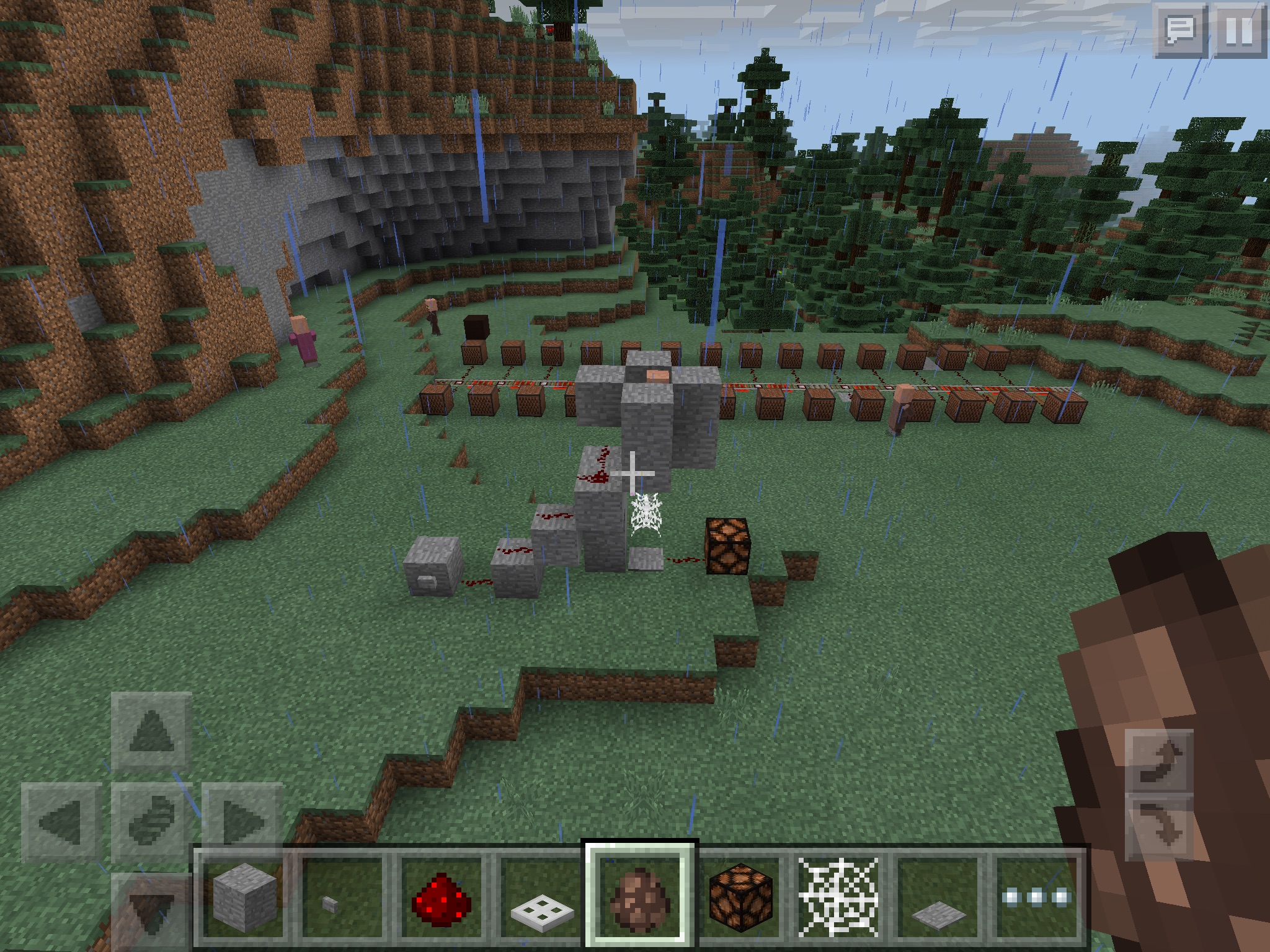 Repeaters in Meincraft: creation and application