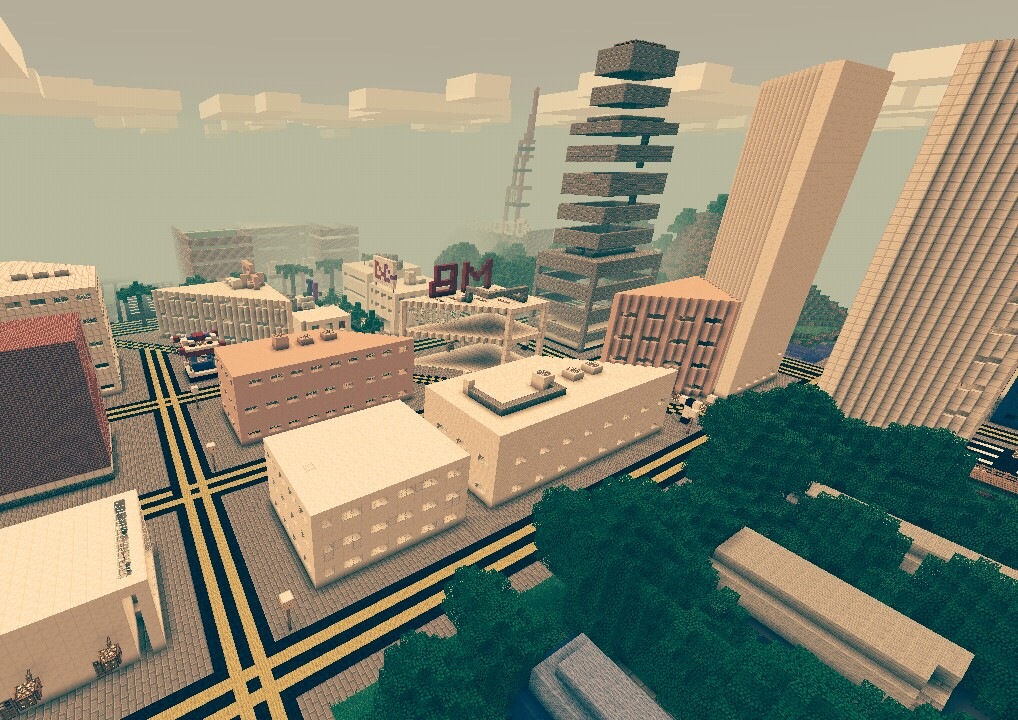 карта город для майнкрафт на андроид #10