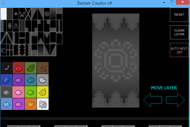 how to make pattern banners in minecraft