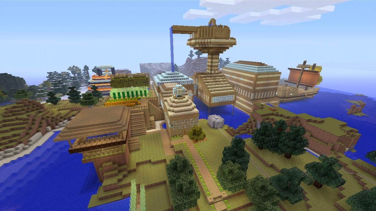 Stampys lovely world Pc By HarmanRandhawa - Maps - Mapping and ...
