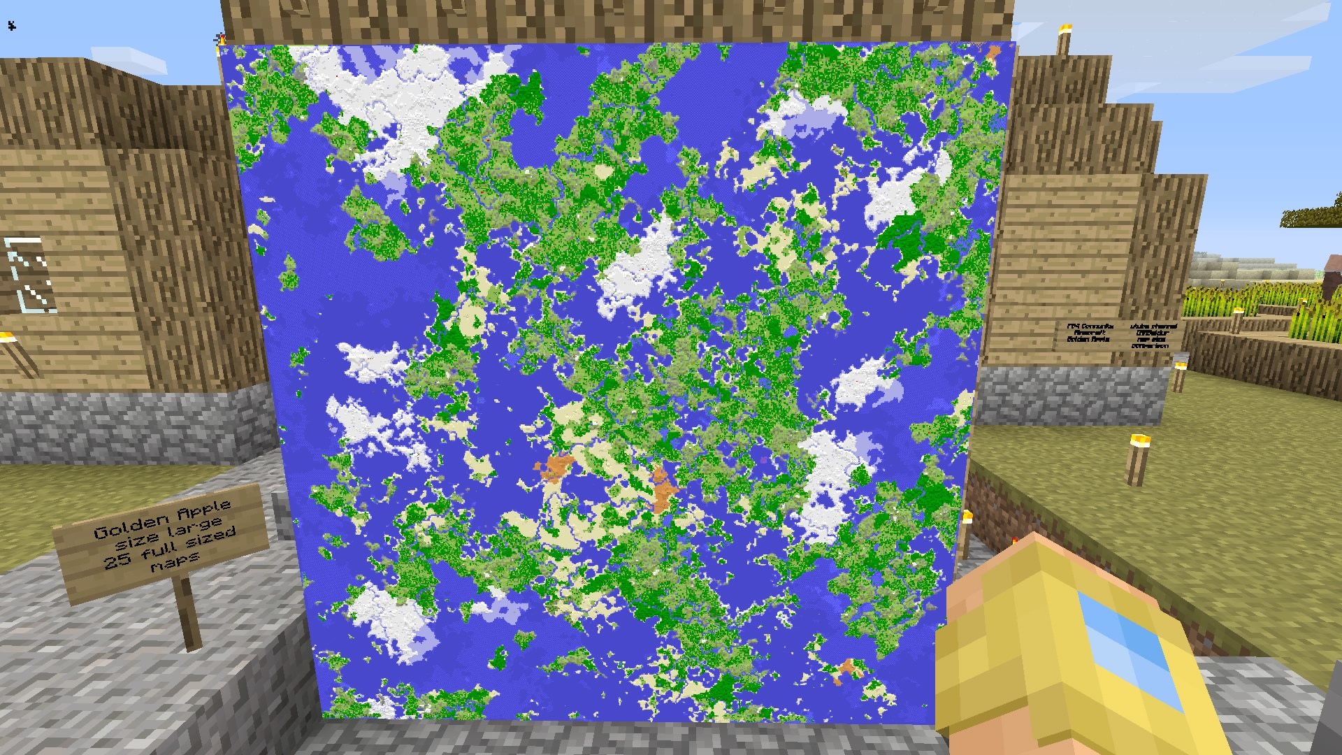 mappe minecraft ps4