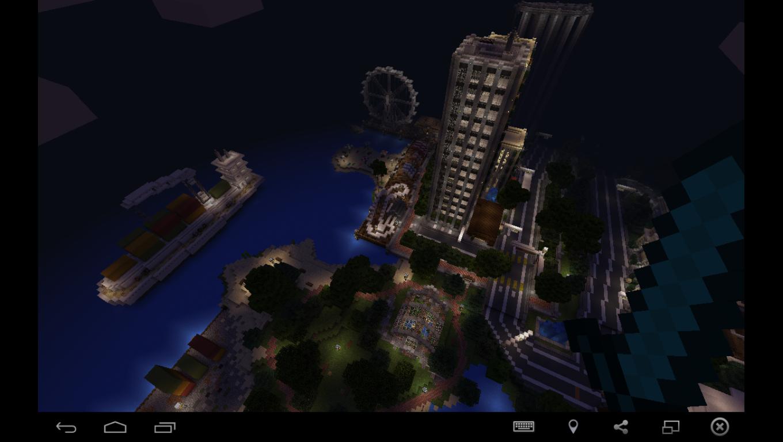 Карты для майнкрафт 1.4.7 большой город