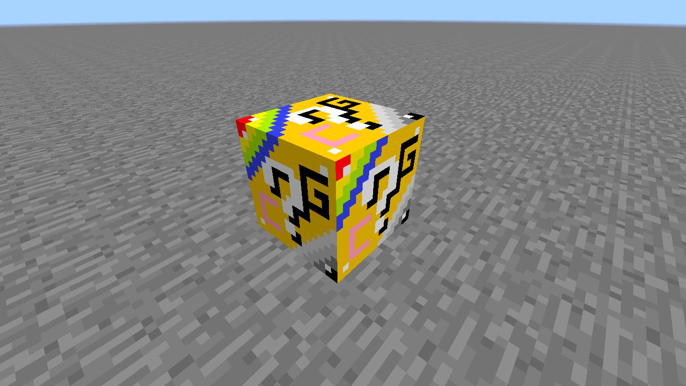 лаки блоки для майнкрафт 1.7.10 #5