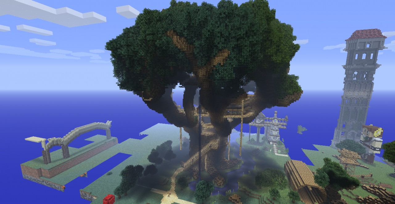 Images of Minecraft Giant Tree - #rock-cafe