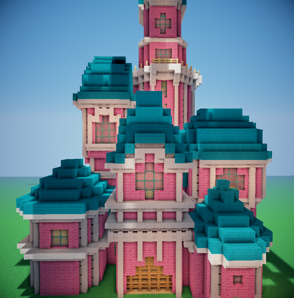 Ldshadowlady crazycraft disney castle burning map for popularmmos 2016 04 11165050 gumiabroncs Image collections