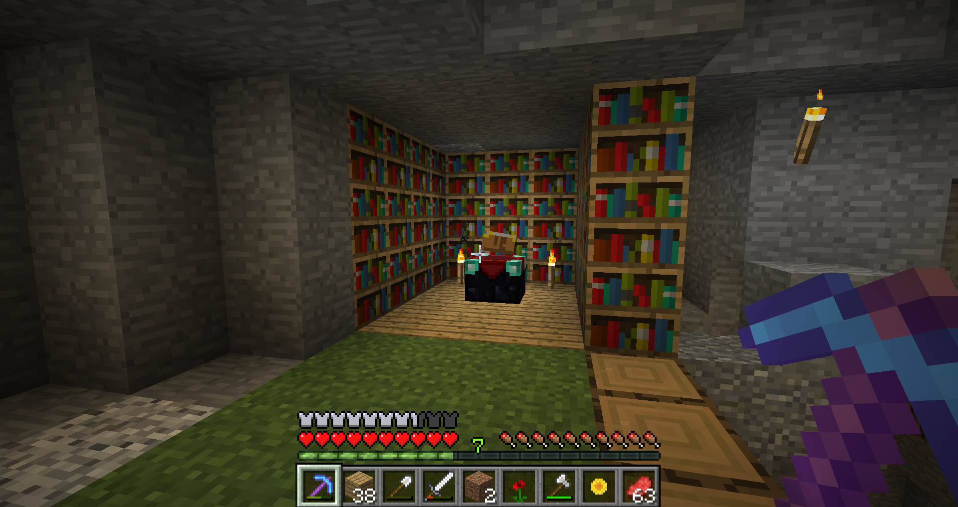 how to make a bookshelf in minecraft. 2016-04-24_12.32.36 How To Make A Bookshelf In Minecraft