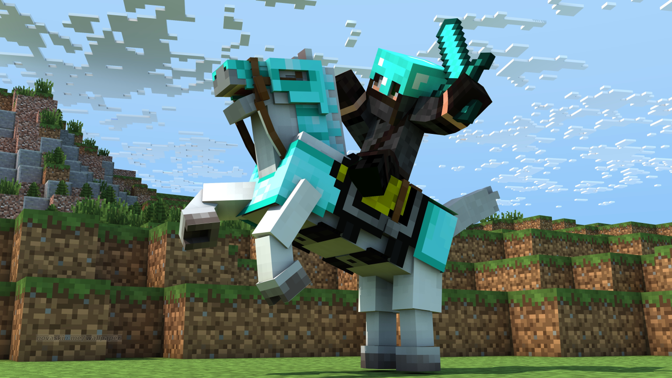 Wallpaper Generator with skins  Other Fan Art  Fan Art  Show Your Creation  Minecraft Forum
