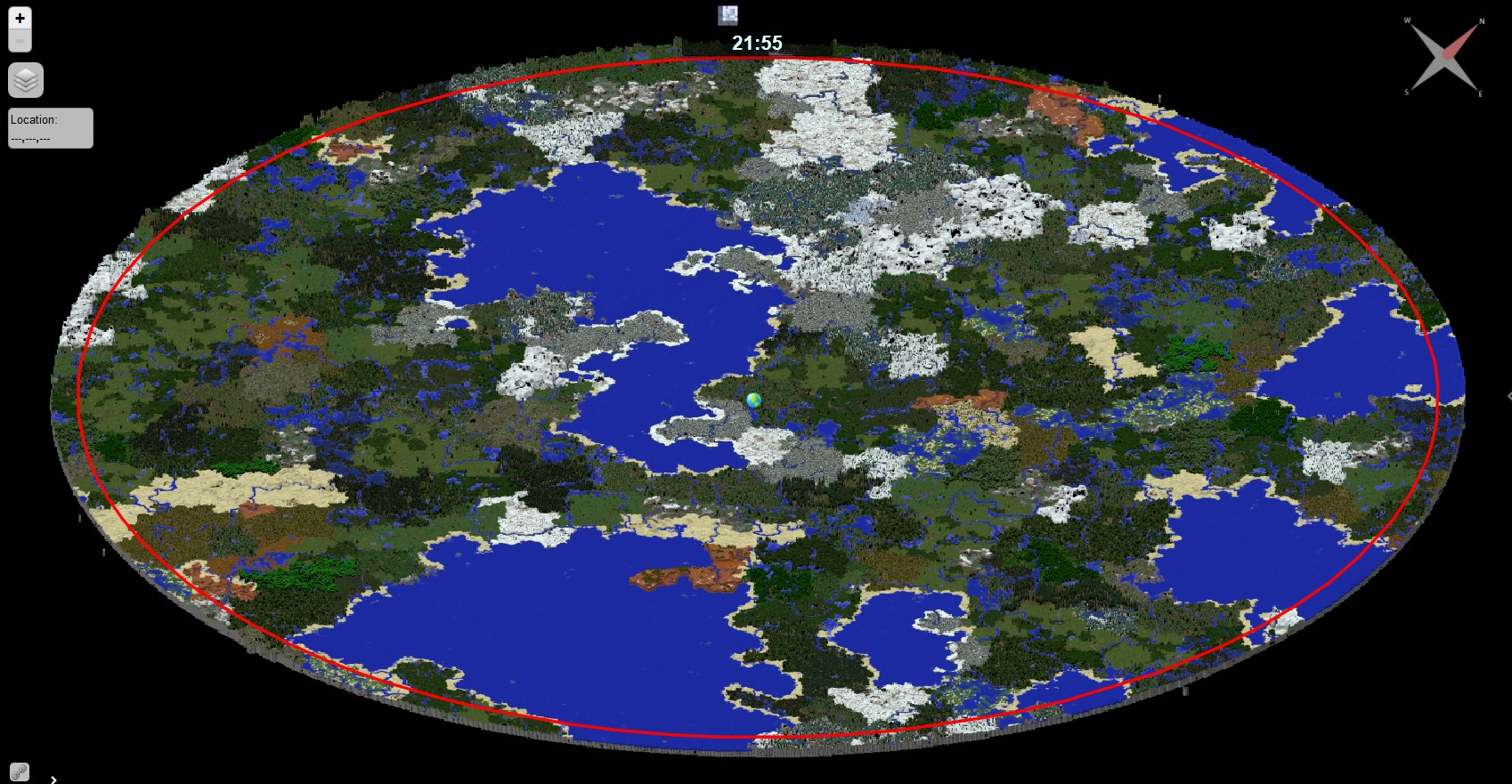Dynmap - Dynamic web-based maps for Minecraft - Minecraft Mods