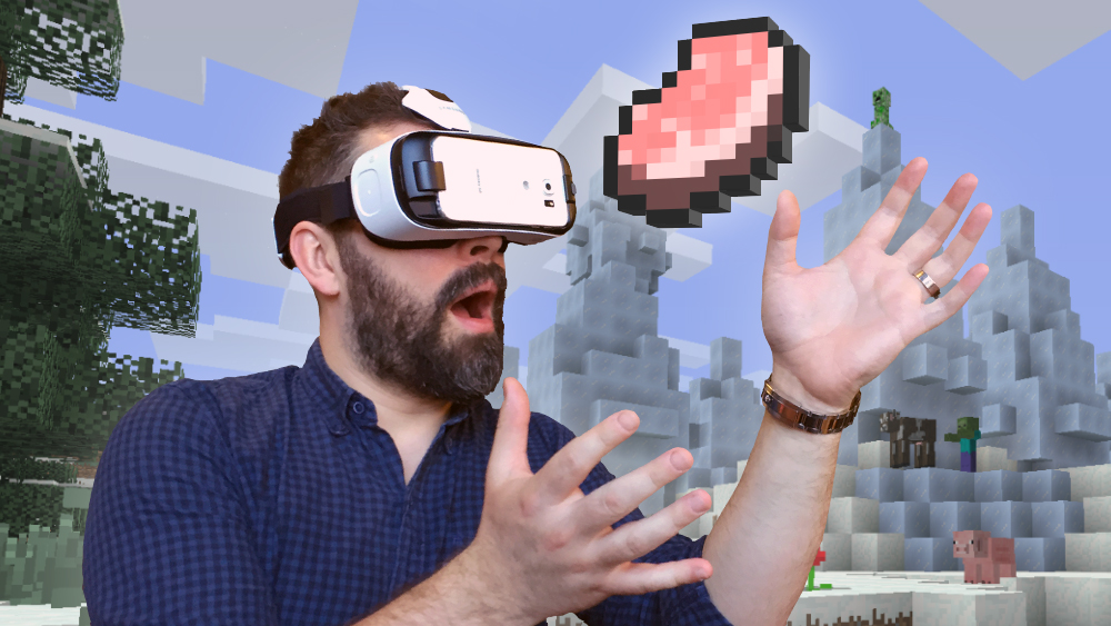 Minecraft For Gear VR Available! News Minecraft Forum