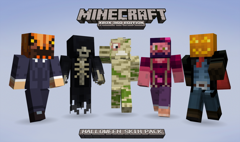 MCX11 Dominates - Halloween Charity Skin Pack on Xbox - Minecraft