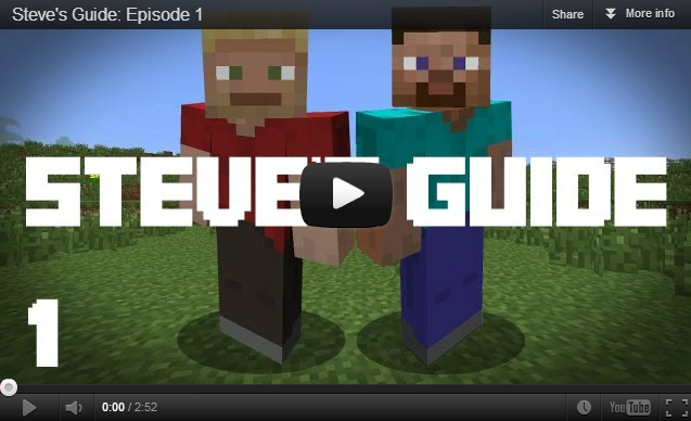 Community Creations Steve S Guide Minecraft News Archive