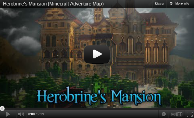 Hypixel Adventure Map - Herobrine's Mansion - News