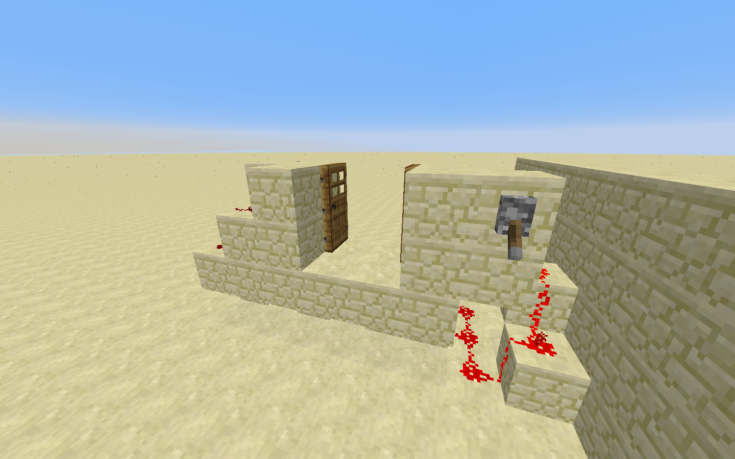 How Do I Make Double Doors With Levers On Either Side Of A Wall 3 Way Switch Minecraft 2016 05 16 131216