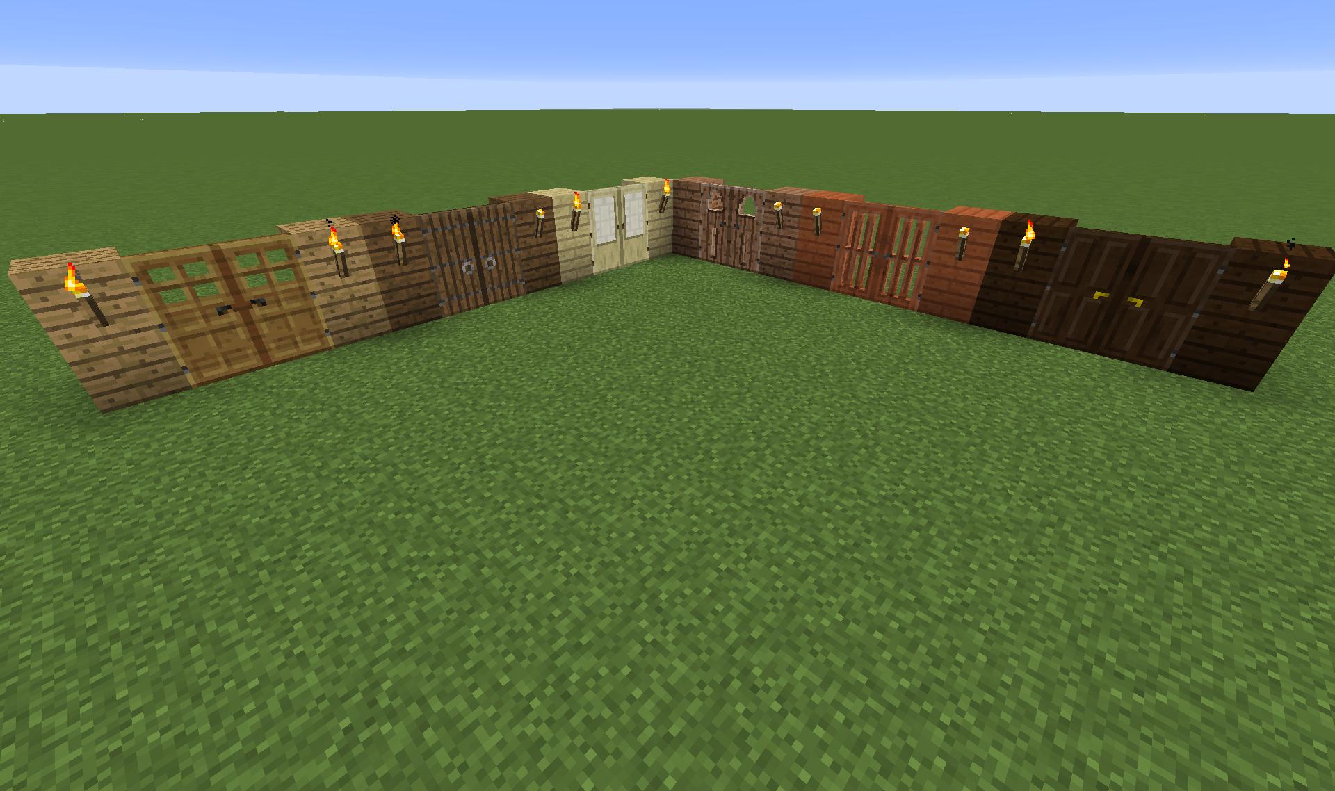 Minecraft Oak Door : The doors not just a band news minecraft forum