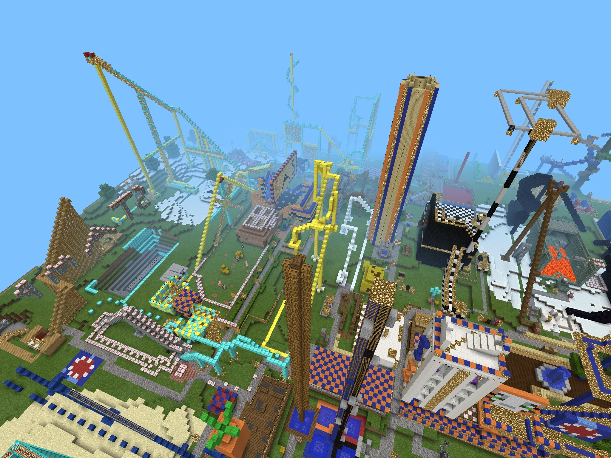 Fun Land 1 Mcpe Maps Minecraft Pocket Edition Minecraft