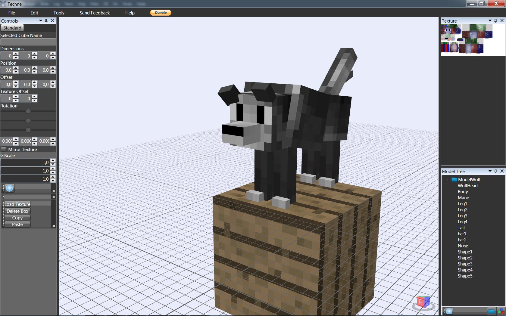 Minecraft Cat Girl