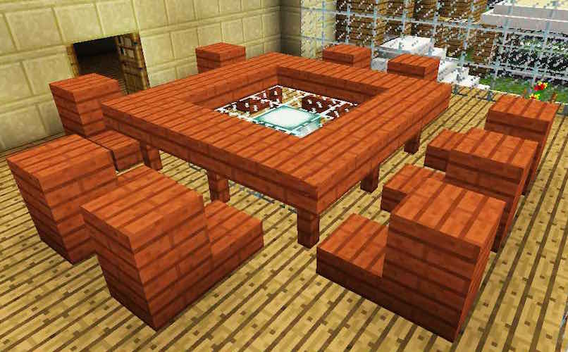 Minecraft Coffee Table Coffee Drinker
