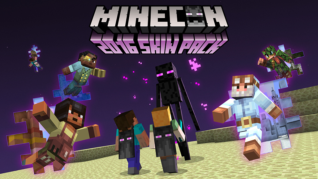 Minecon Skin Pack Free For Now News Minecraft Forum - Skins para minecraft de pc