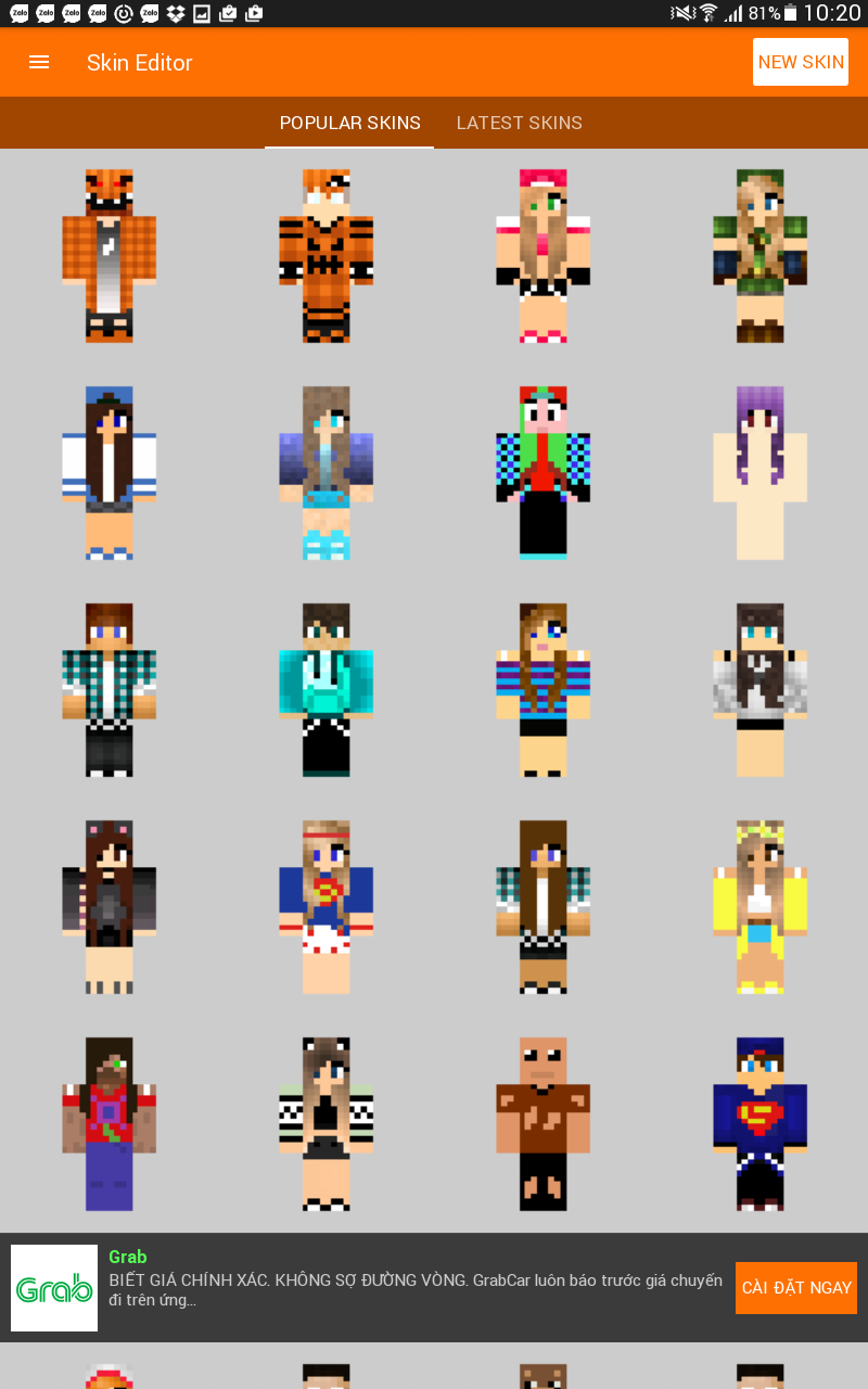 Skin Editor With 3d Preview Mcpe Mods Tools Minecraft Pocket