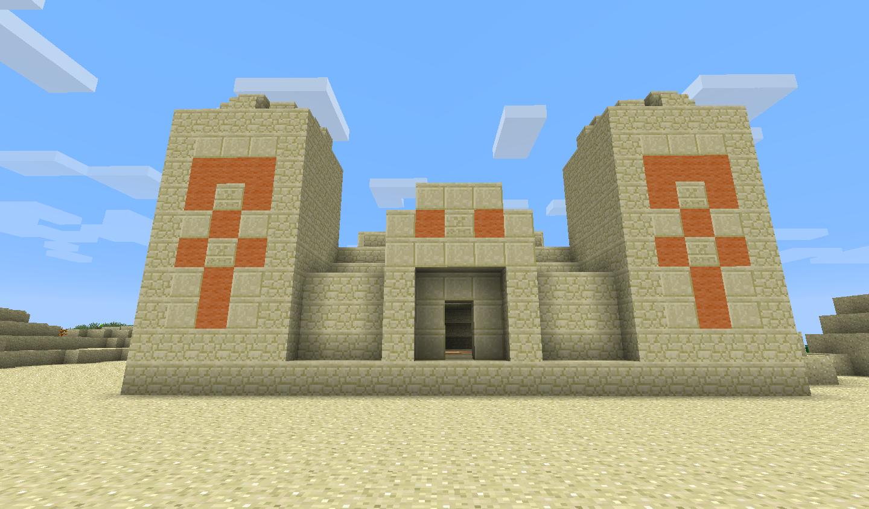 Afbeeldingsresultaat voor minecraft desert temple