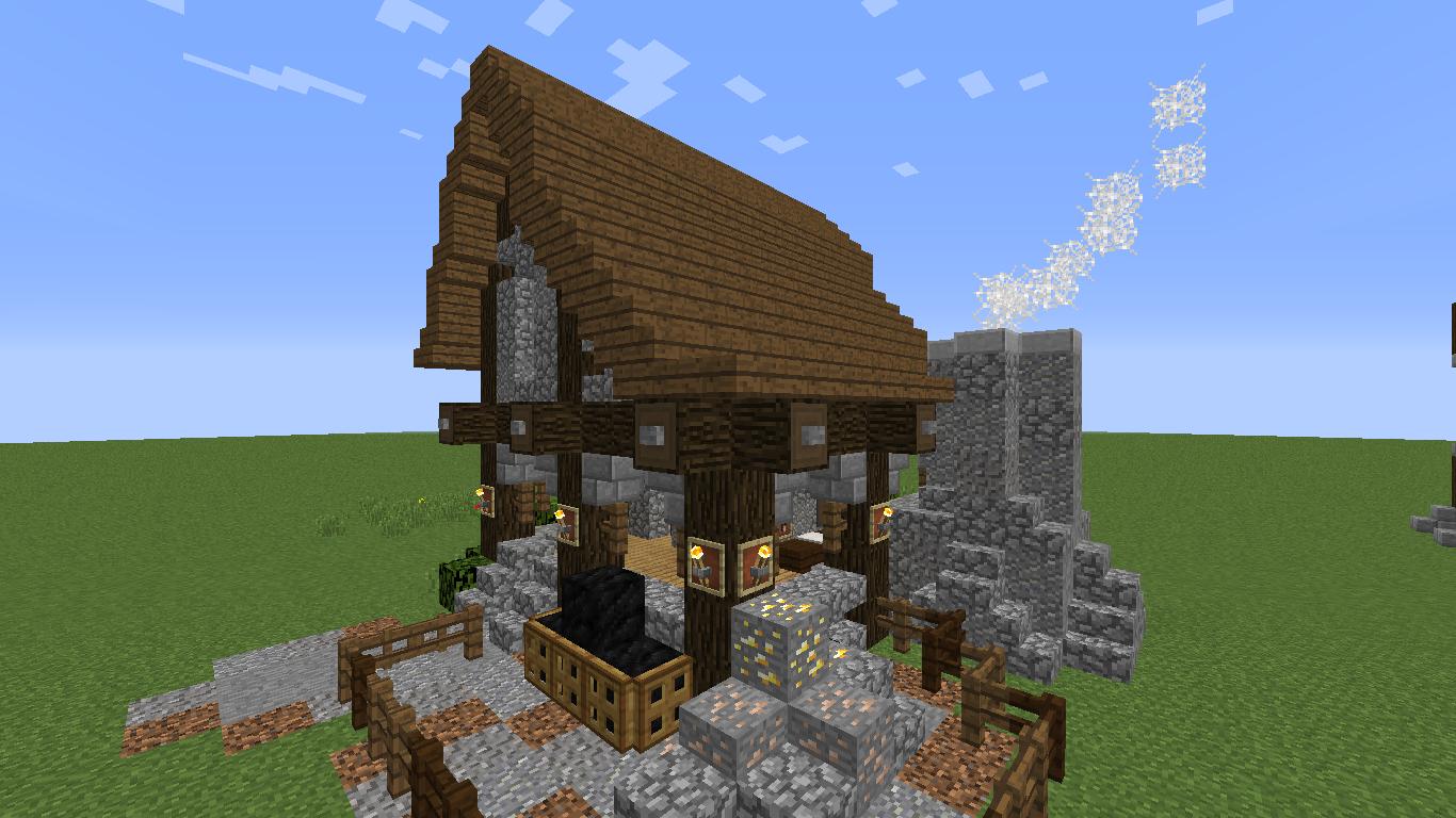 Rustic Blacksmith House & Forge Build - Screenshots - Show ...