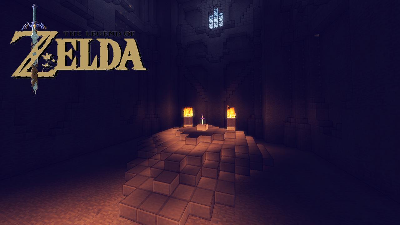 The Legend of Zelda: Block of Time || Adventure Map || Minecraft ...