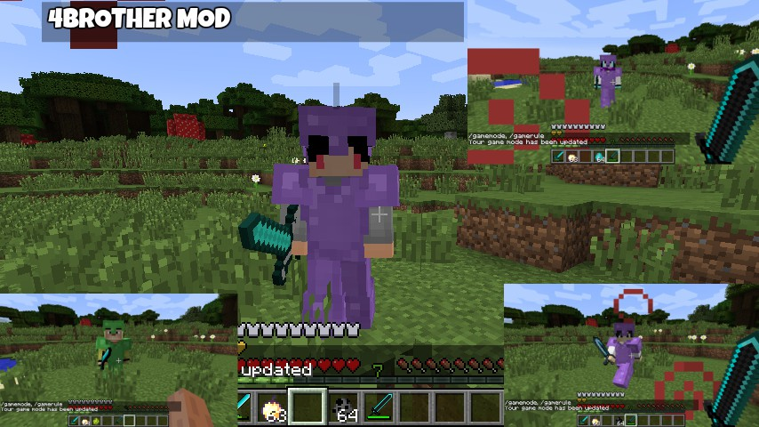 Brother Indonesia Youtuber Mod WIP Mods Minecraft Mods - Skin para youtuber minecraft indo