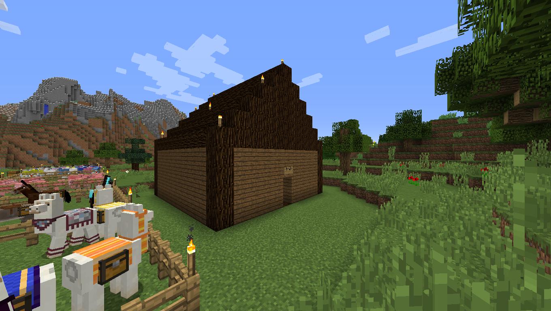 minecraft fishing house - HD1360×768