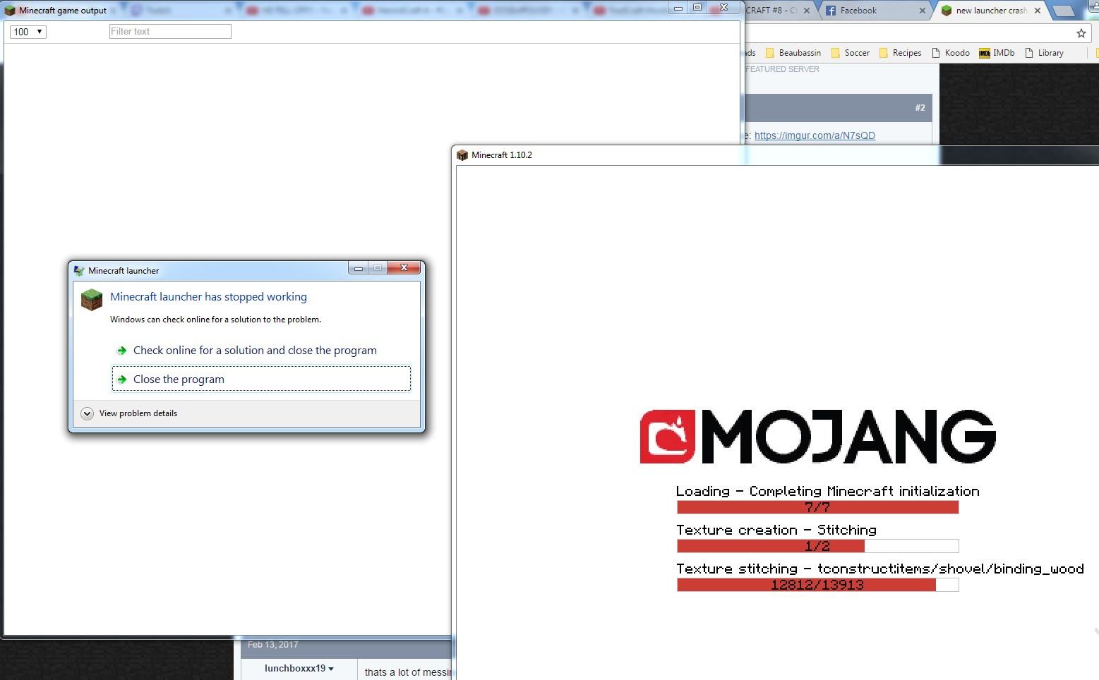 New Launcher Crash Log Location Java Edition Support Support - Twitch minecraft server erstellen