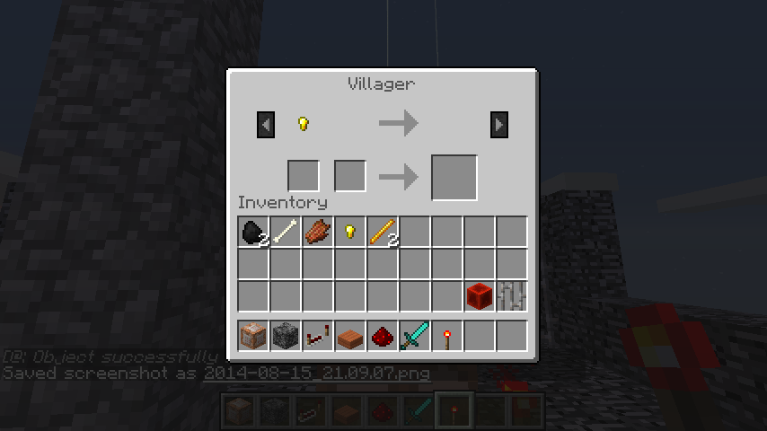 Villagers Summoning Villagers With Custom Shop Mapping And - Minecraft befehl namen andern