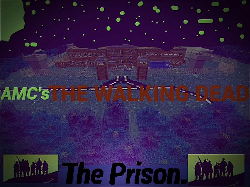 New the walking dead mcpe prison map mcpe maps minecraft img20140813144015 sciox Gallery