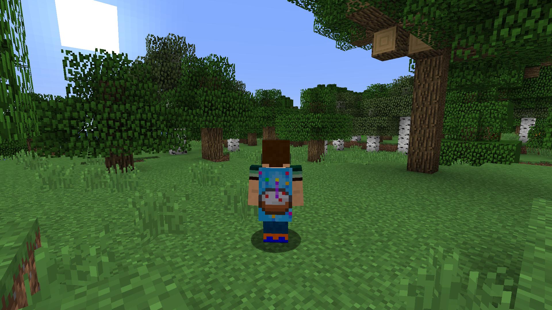 Minecraft Xbox 360 1st Birthday Cape download - Skins ...