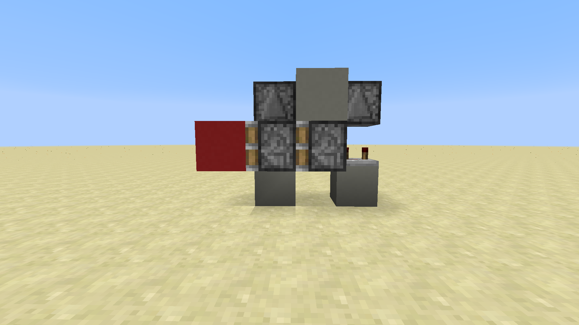 Horizontal Double Piston Extender 2 Wide Flush With The