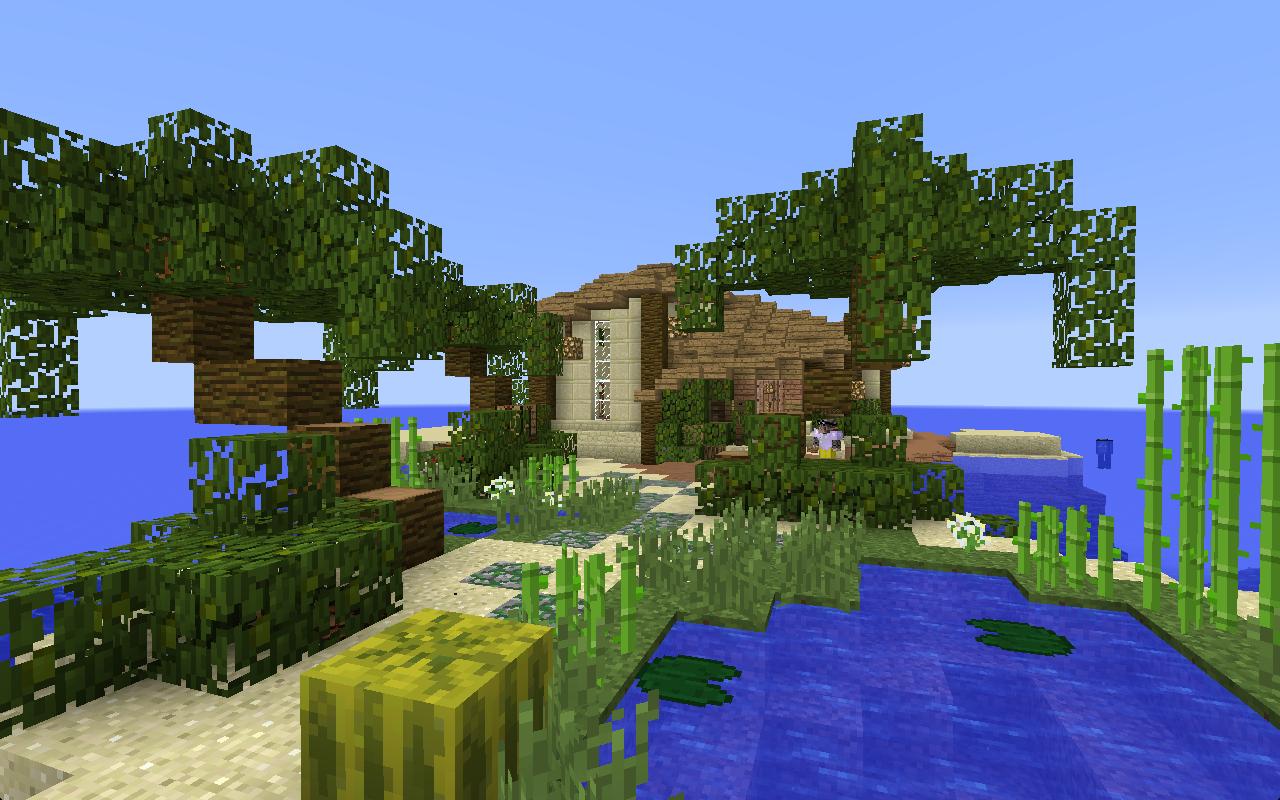 Minecraft Tropical Island: Servers: Java Edition