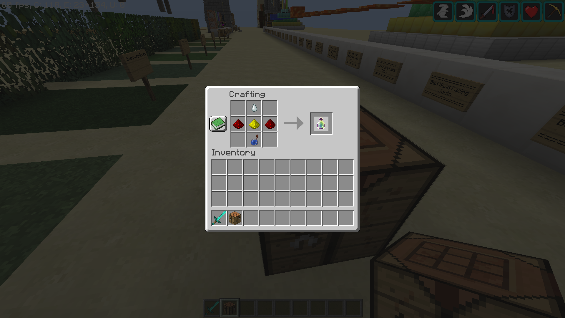 Minecraft Armor Crafting