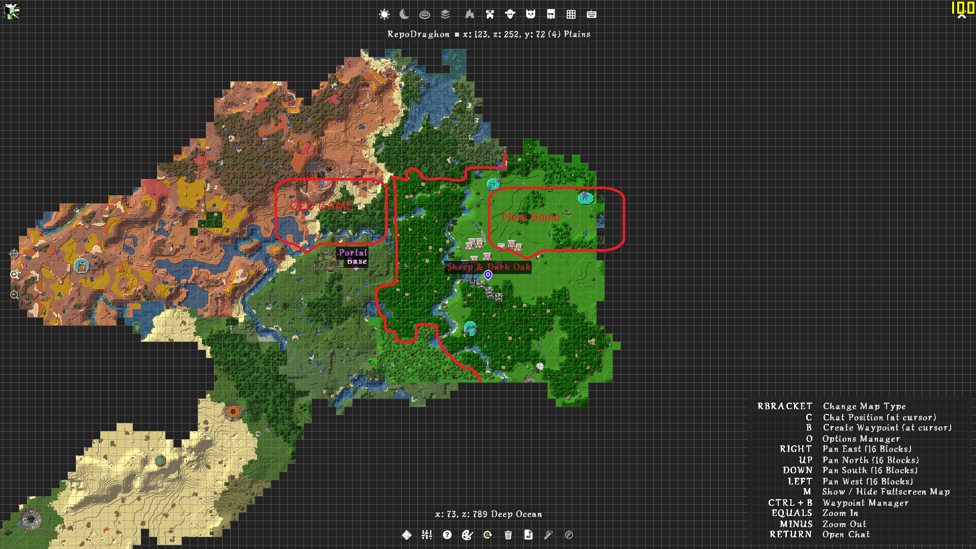 JourneyMap X Realtime Mapping Ingame Or In A Web Browser As - Journeymap map para minecraft 1 11