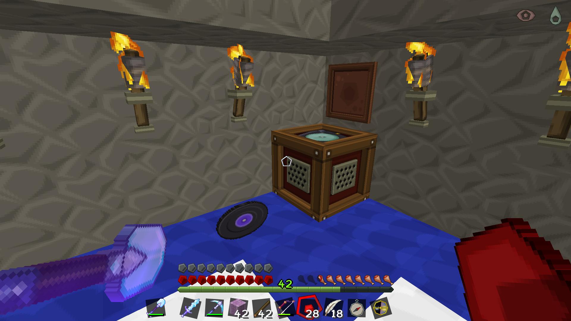 why isnt my minecraft jukebox working