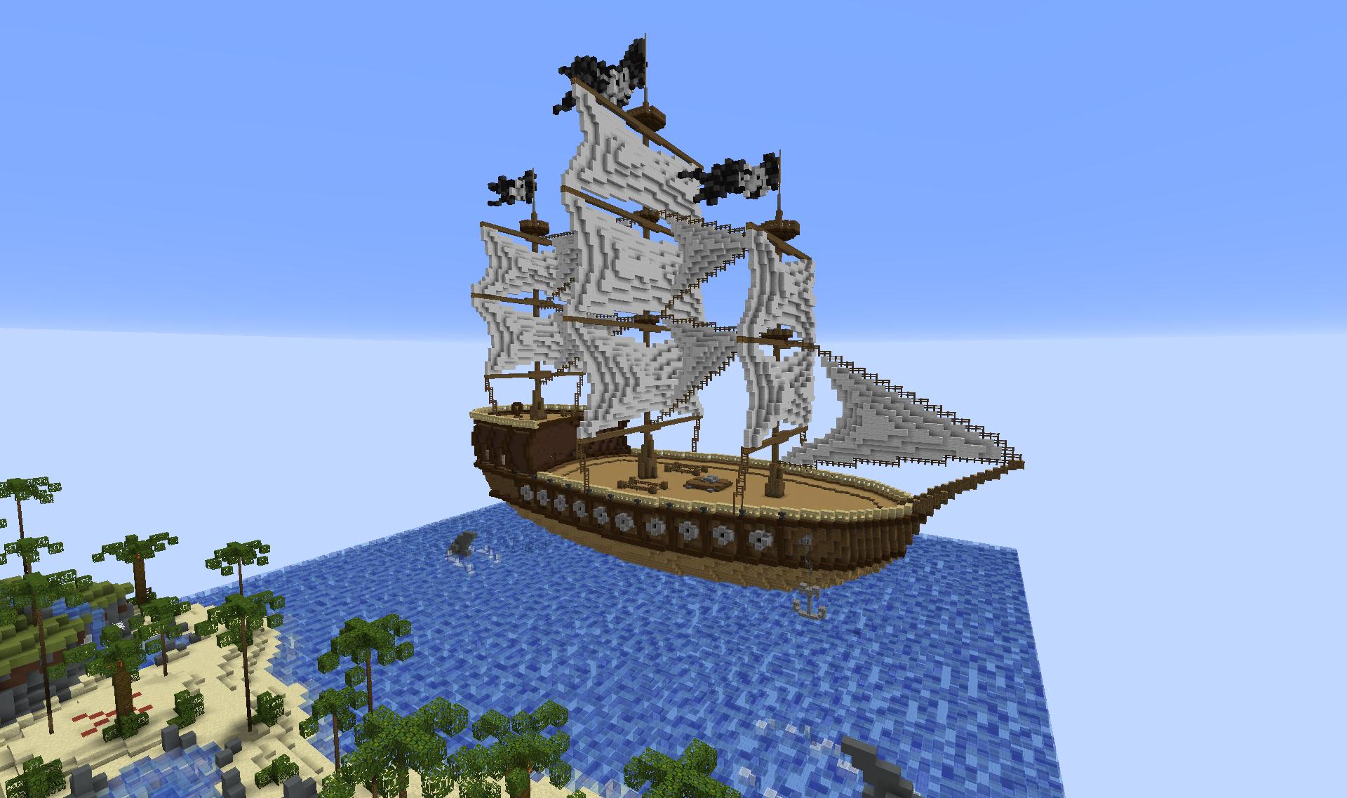 вдвоем корабль в майнкрафт карта самых