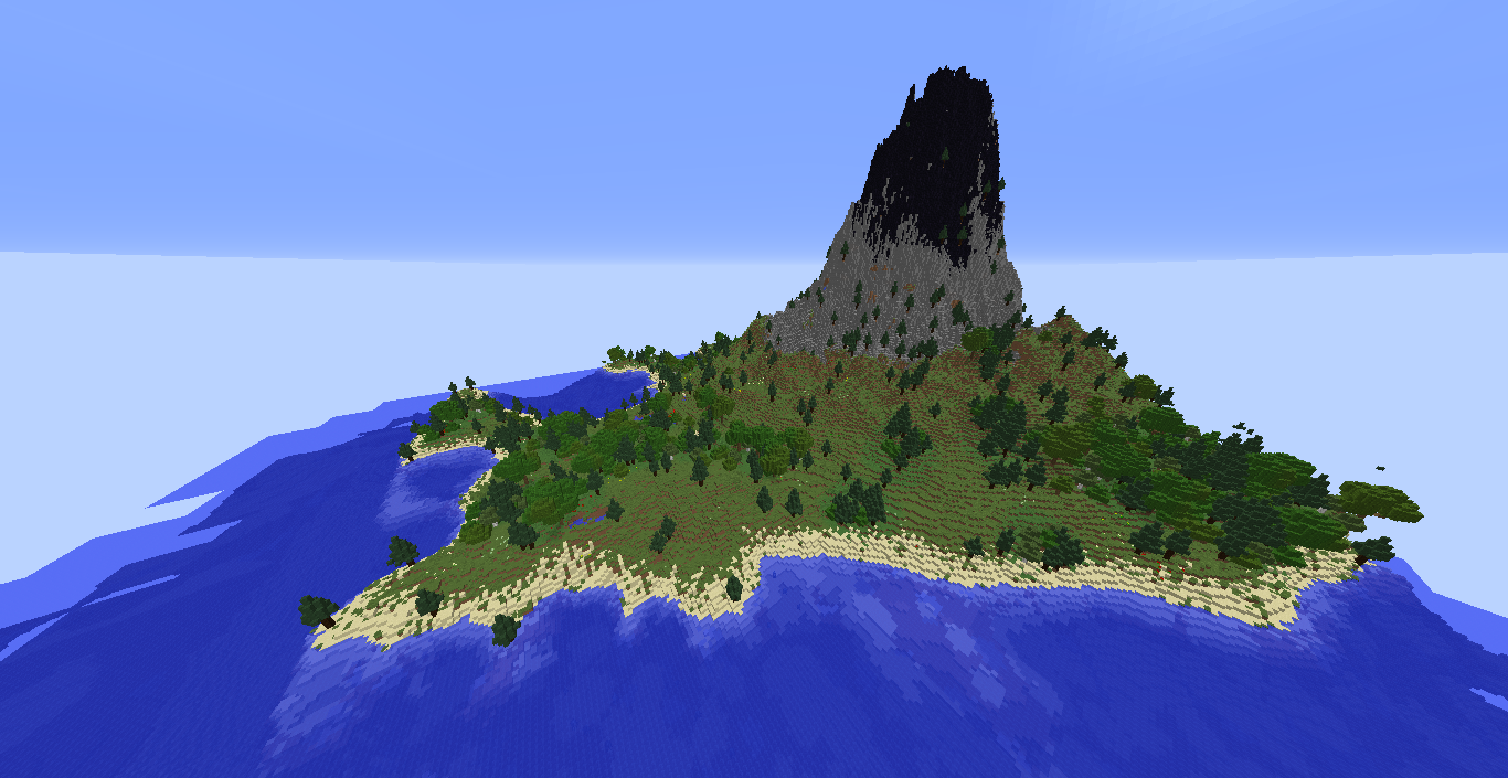Volcano Survival Island Maps Mapping And Modding Java Edition