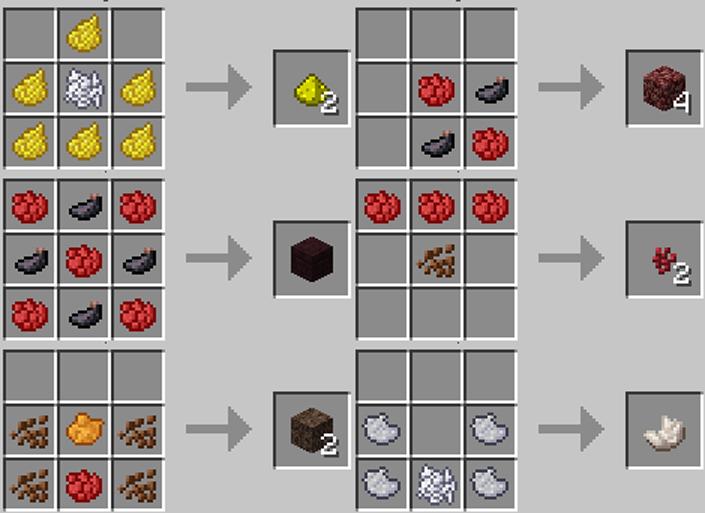 Minecraft Crafting Brown Dye