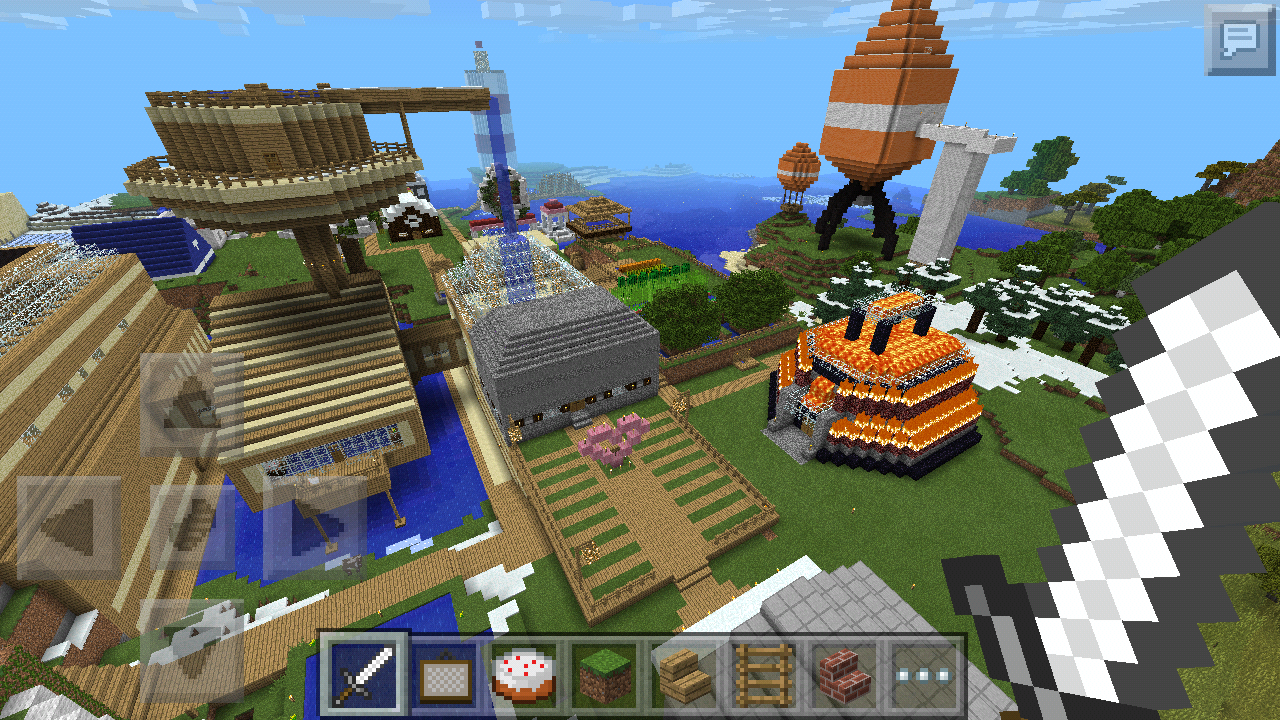 Stampy World Map.Mcpe Stampy S Lovely World Map New V1 1 Update Includes Infinite