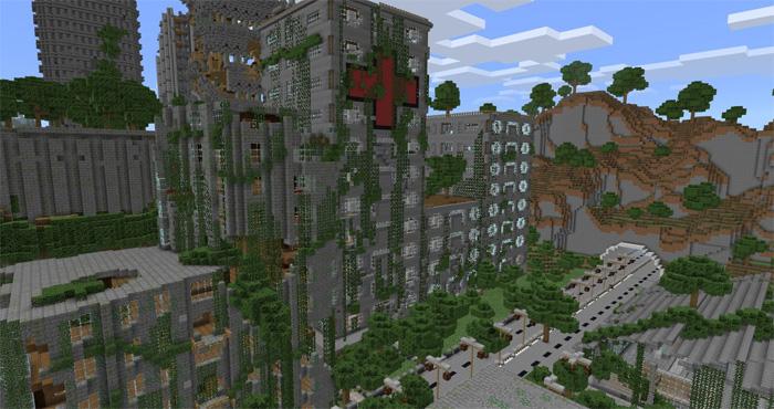 Apocalyptic City - MCPE: Maps - Minecraft: Pocket Edition ...
