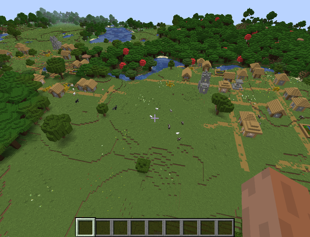 114 Double Village Connected Seeds Minecraft Java
