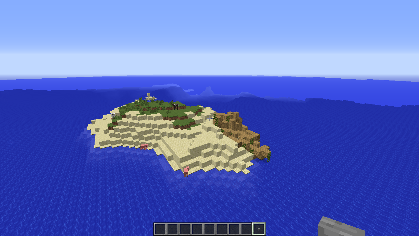 Survival island 1.7.10 - Maps - Mapping and Modding: Java Edition ...