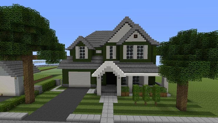 Traditional House Build. - MCX360: Show Your Creation ... - photo#12